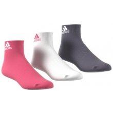 Adidas ponožky Performance Per Ankle T 3pp Bílá c829aca3a4