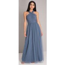 Chi Chi London plesové šaty Alessia popelavá 6b2e308612