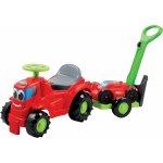 Ecoiffier Odrážadlo s kosačkou na prívese Traktor červené 103,5 cm dlhý 103,5*33*26 cm