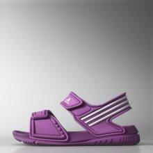 Adidas akwah dětské otevřená obuv flashPink/white