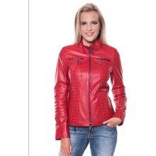 Giorgio Di Mare dámská kožená bunda GI2599652 RED