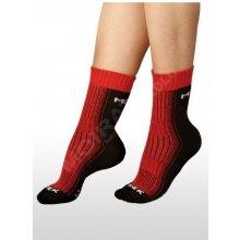 Moira Funkční ponožky trek černo červená 2cfe81aeb0