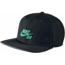 Nike SB Icon Snapback 011/Black/Black/Crystal Mint