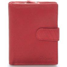 Dámská kožená peněženka Delami Celestiel červená červená