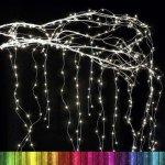 Nano LED vodopád CL-483M 20x2m 600LED multicolor
