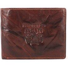 fdf72d844409b Always Wild Pánská kožená peněženka N992 BC hnědá