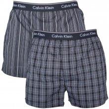35a45090fe Calvin Klein Trenýrky boxers Classic Fit Black Stripes Plaid 2 pack