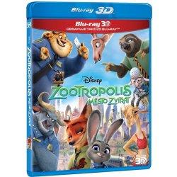 Zootropolis: Město zvířat 2D+3D BD