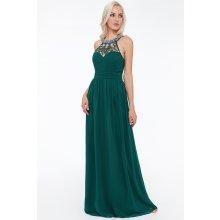 75b0b7a987c Dámské dlouhé společenské šaty Johanna zelená