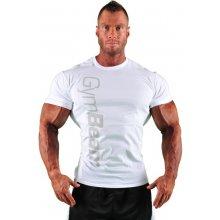 GymBeam Tričko Vertical White