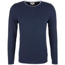 Q/S designed by pánský svetr tmavě modrá