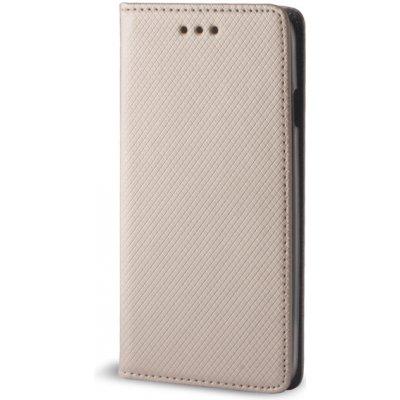 Pouzdro Sligo Smart Magnet Samsung G900 Galaxy S5 zlaté