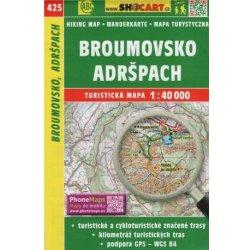 Broumovsko Adrspach Turisticka Mapa 1 40 000 Od 79 Kc Heureka Cz