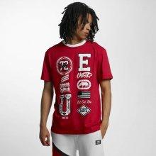 Ecko Unltd. College Patches T Shirt Red