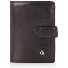 Castelijn & Beerens dámská kožená peněženka Castelijn & Beerens 425420 černá