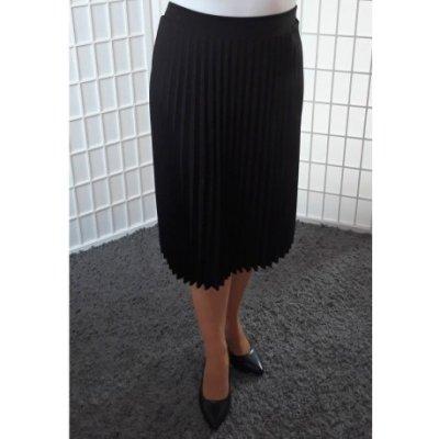 Plisovaná sukně černá Vionnetta 0136