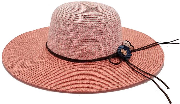 598f70929f8 Bleskovynakup.cz Dámský letní slaměný klobouk květiny růžový s provázky  černá alternativy - Heureka.cz