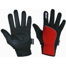 Sulov červené zimní rukavice