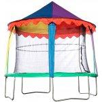 Stříška pro trampolínu 370 cm, design cirkusový stan