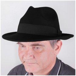 447cafef1a7 Assante elegantní černý pánský klobouk 85030 od 931 Kč - Heureka.cz