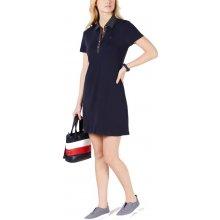 63f060aa5ce Tommy Hilfiger sportovní šaty s límečkem modrá