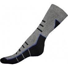 Gapo ponožky Thermo vzor šedočerná
