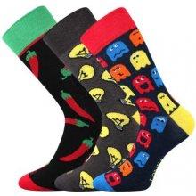 Lonka ponožky Woodoo mix I - 3 páry