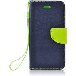 Pouzdro Smarty flip HUAWEI Y5 II   Y6 II compact modré limetkové ... 48d023ec431