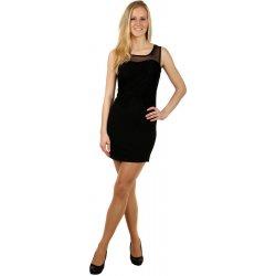abc32743c1a Krátké šaty s krajkou ozdobou 123131 černá od 745 Kč - Heureka.cz