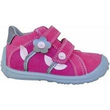 Protetika Dívčí kotníkové boty Samanta - růžové cbfc4b9730