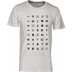 01f2924fcec9 Tukan Agency Pánské tričko pro cestovatele Fashion WORLD Bílá od 345 ...