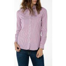 Gant dámská Košile GANT STRETCH BROADCLOTH BANKER fialová