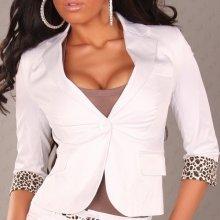 Dámský kabátek bílý