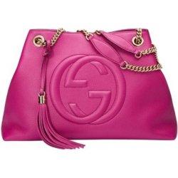 Gucci Soho Leather Tassel Chain Fuchsia Tote bag alternativy ... bc0ffd91952