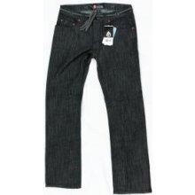 Matix jeansy DAEWON STRETCH black