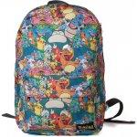 CurePink batoh Pokémon: All Over Printed multicolor