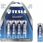 Baterie Tesla SILVER  AA 4ks