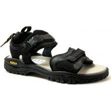 ASOLO Scrambler black/black, pánské trekové sandály