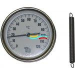 Regulus Teploměr příložný 1B2.10010.00A, 0-120°C, ø 63 mm 3042