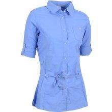 NELL dámská košile 3 4 rukáv W14052 modrá