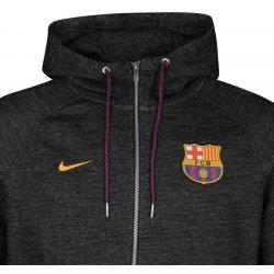 5c0f70e0e0ec0 Nike FC Barcelona Authentic Hoody mens black pánská bunda a kabát ...