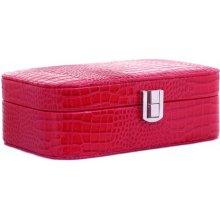 61422719341 Trading luxusní střední šperkovnice červeno růžová lesklá SSL4