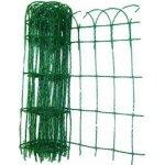 Okrasné pletivo 0.4x25M/2mm,15x9cm, poplastovné zelené
