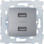HBF zásuvka USB x2 SOPIA 159391