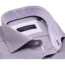 Casa Moda Comfort Fit Premium – luxusní košile s modro-růžovým vetkaným  vzorem a vnitřním 3e96791bfe