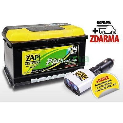 ZAP Plus 12V 60Ah 520A 56077