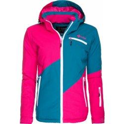 Dámská bunda a kabát dámská snowboardová bunda GIZELA Kilpi růžová