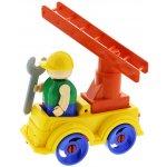 BAUER Stavebnice Construction set Auto s žebříkem