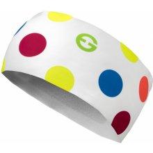HB Dolomiti Čelenka ELEVEN HB Dolomiti Dots Color White