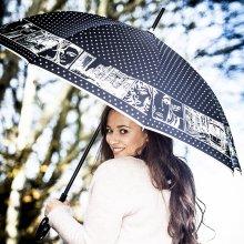Rusqué RSQ1912 Pop Art luxusní dámský holový deštník